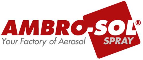 logotipo Ambro-sol. Fabricantes de aerosoles