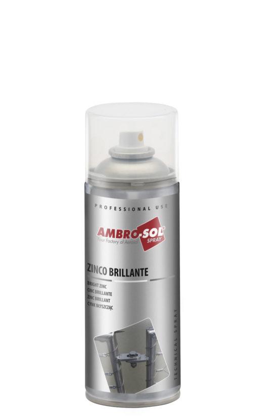 spray de galvanizado en frío. color cinc brillante