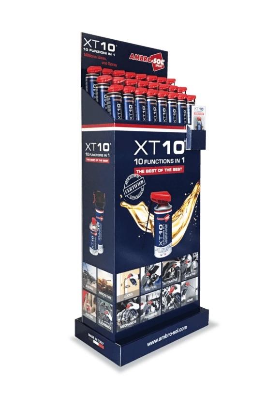 Expositor de spray multifunción XT10
