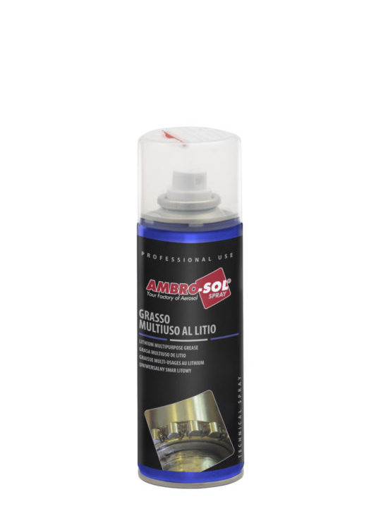spray de grasa multiuso de litio 200 ml