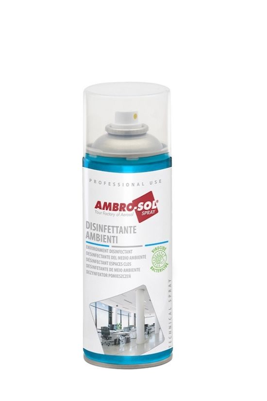 Nuevo Spray Desinfectante Espacios Cerrados